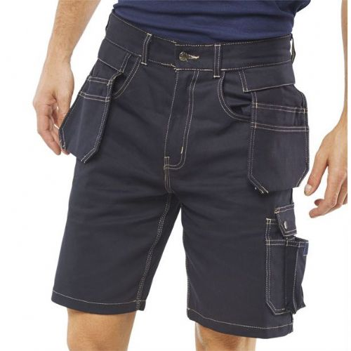 Click Workwear Grantham Multipocket Shorts